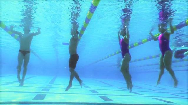 Swim Kick Inertia