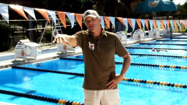 Swim Kick Stabilizing Force