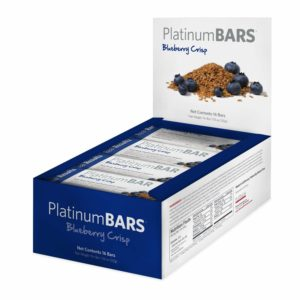 Platinum Omega-3 Strawberry, Blueberry and Cranberry Bars