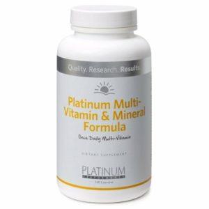 Platinum Multi-Vitamin & Mineral Formula