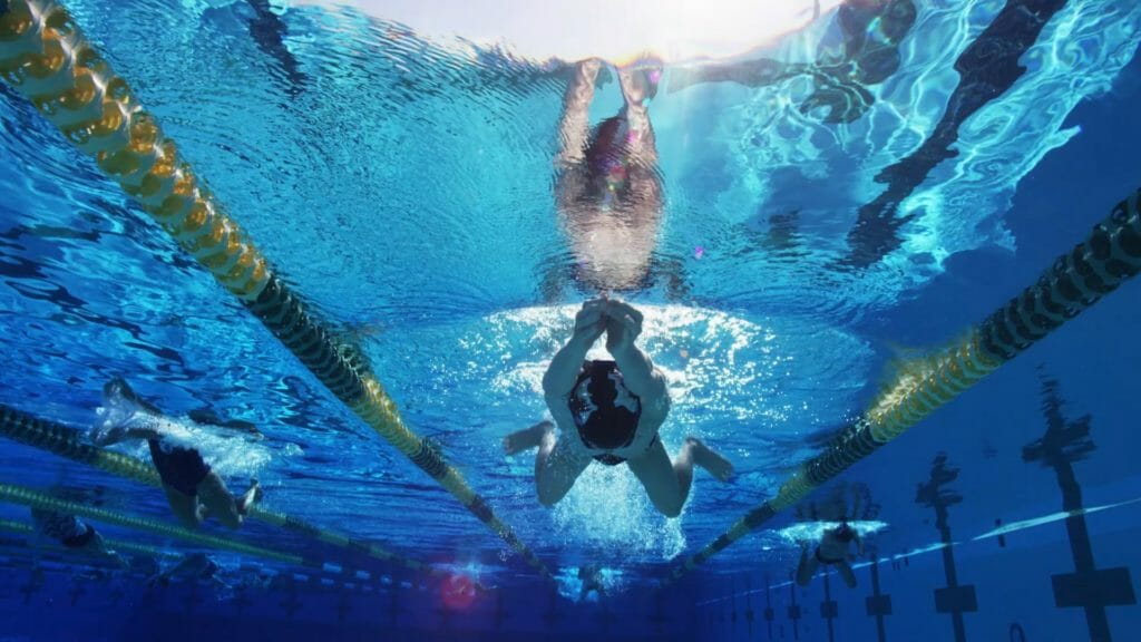 Swimming training programs-breast stroke