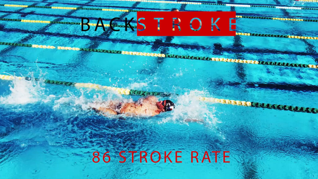 Swimming Stroke Rate