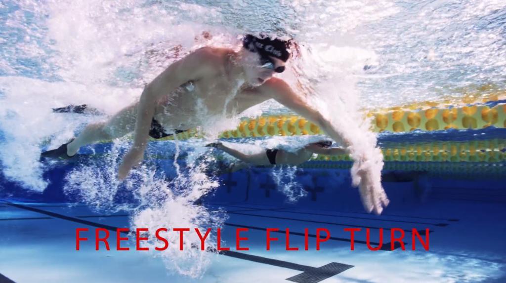 Freestyle flip turn