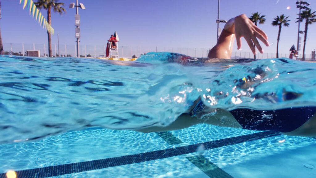 freestyle swim drill