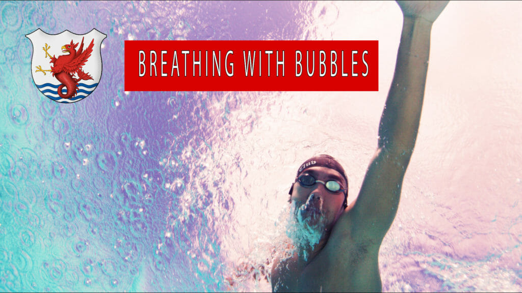 breathing with bubbles