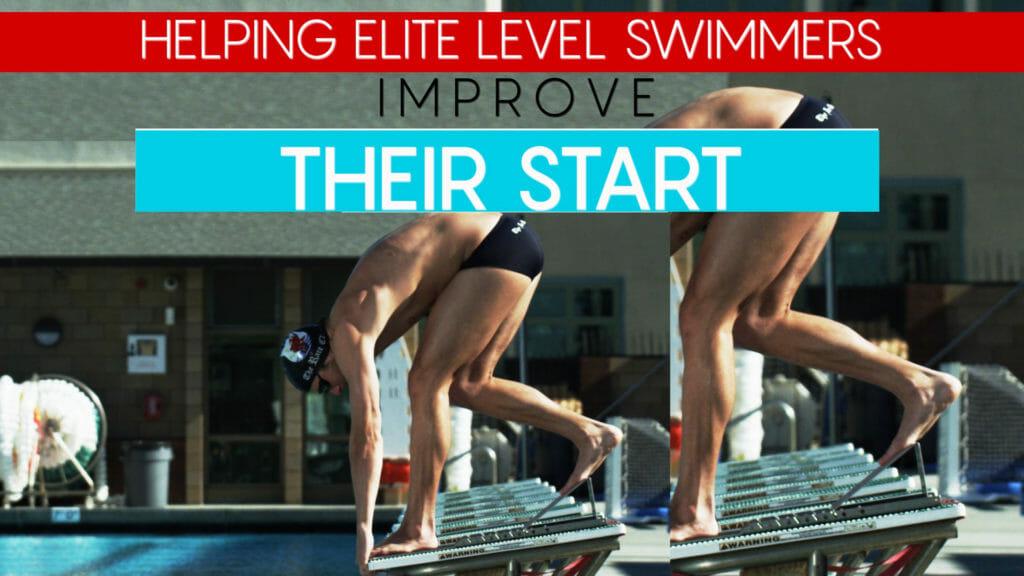 fast swimming starts