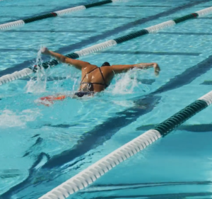 Breathing patterns 100 fly