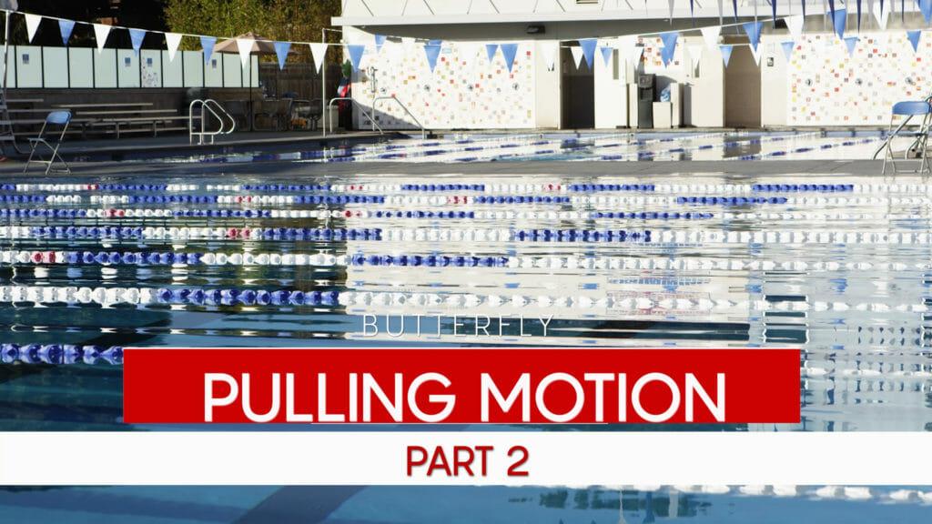 swim pulling motion