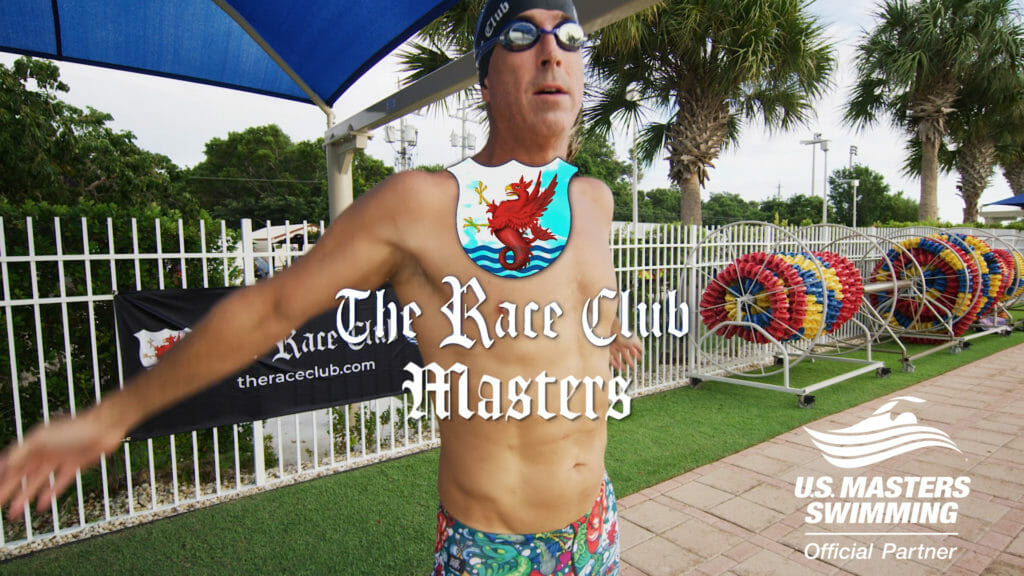 masters swimmer