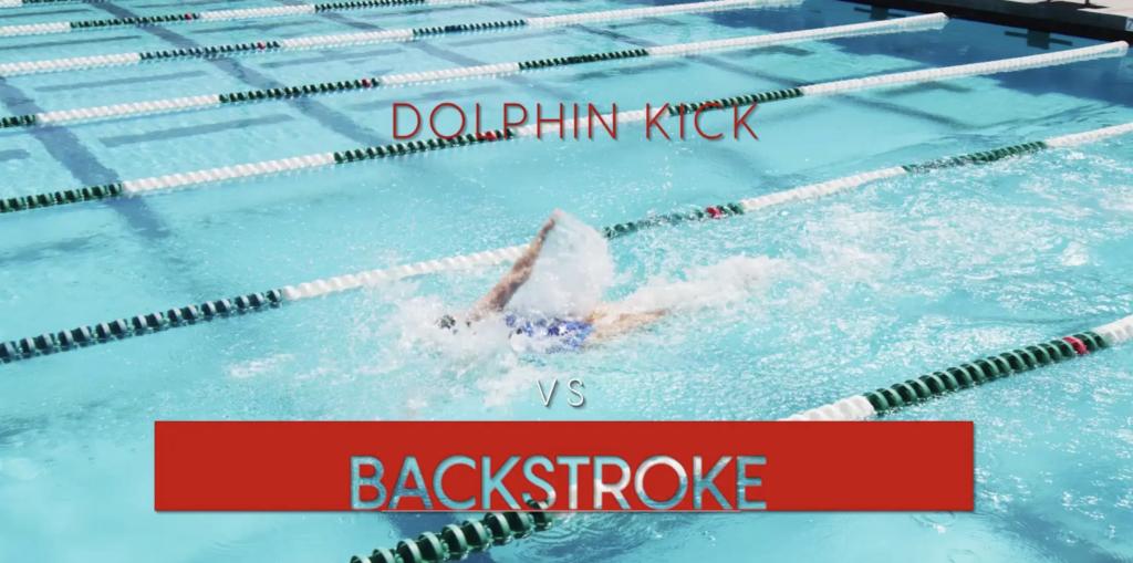 Dolphin Kick vs Backstroke Speed