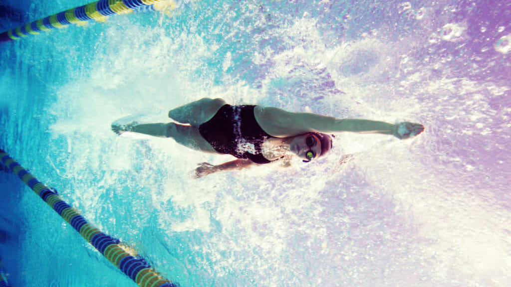 Pull Swimming