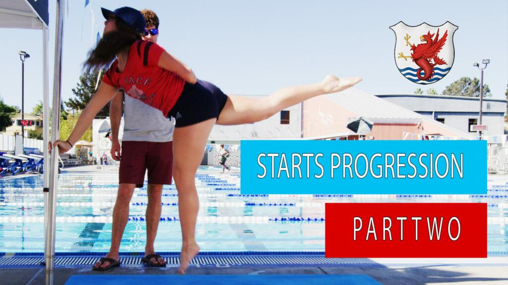 swimming start progression