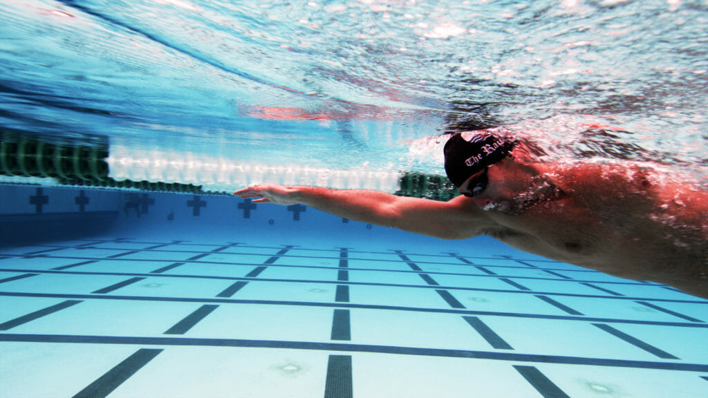 Sprint Freestyle Stroke Rate