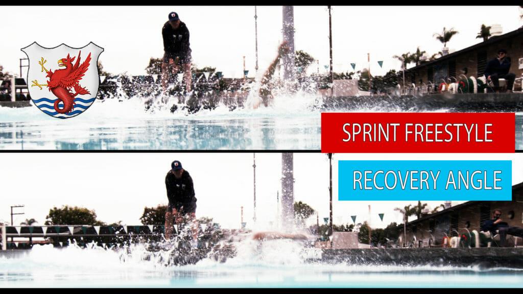 50 freestyle technique sprint freestyle